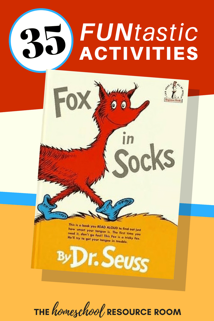 35+ FUNtastic Fox in Socks Activities for Kids!